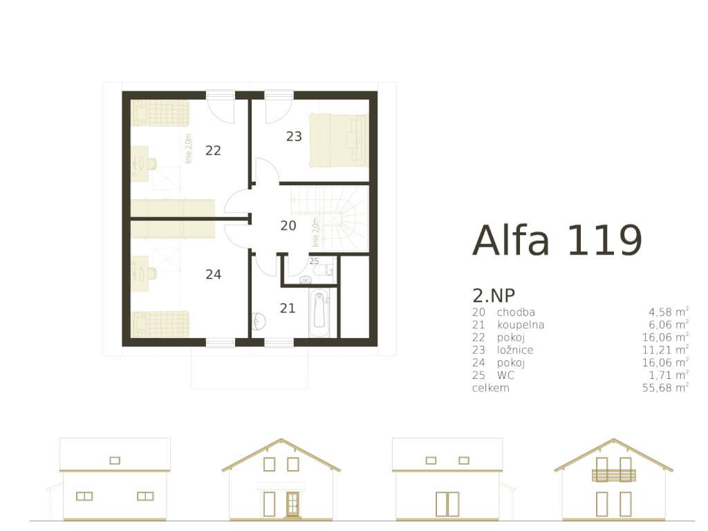 Patrovy Dum Alfa 119 Atrium