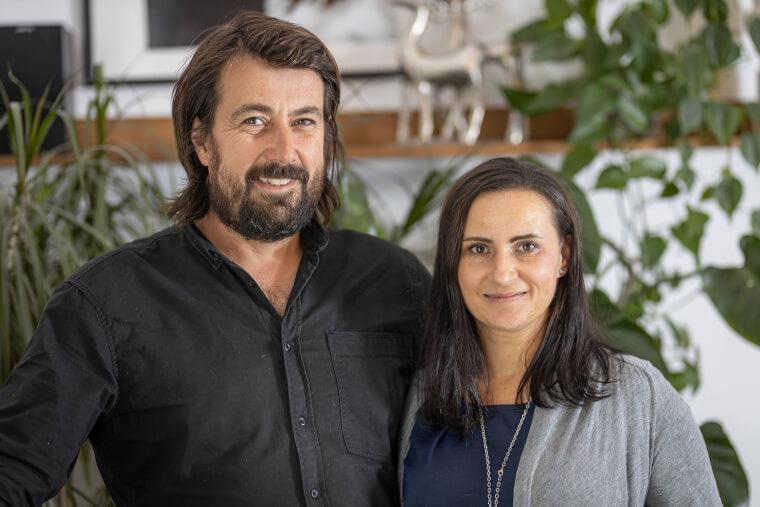 Majitelé domu Anka a Juraj