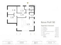 Bungalov Nova Profi 90 Atrium